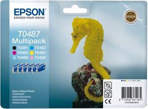 kazeta EPSON T048740 Multipack - 6 ink (C/M/Y/LC/LM/K) R200/300/320/34