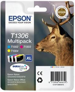kazeta Epson T1306 multipack Stylus SX525WD/BX305F/BX625FWD