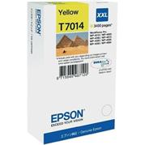 kazeta EPSON T7014 XXL yellow WP4000/4500 series XXL (3400 str.)