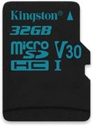 Kingston 32 GB microSDHC, Class 10 U3 UHS-I