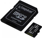 Kingston Canvas Select Plus micro SDXC 64GB Class 10 UHS-I +adaptér
