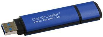 Kingston DataTraveler Vault Privacy P30 256bit AES Encrypted 64GB USB 3.0