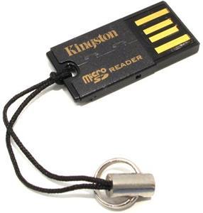 Kingston G2 microSDHC, čítačka