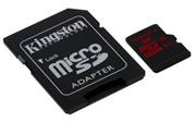 Kingston microSDXC 128GB + adaptér