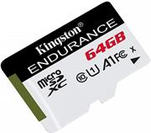 Kingston microSDXC 64 GB High Endurance Class 10 UHS-I U1
