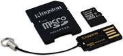 Kingston Mobility Kit G2 microSDHC 32GB + adaptér a čítačka