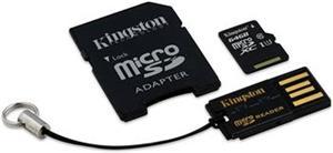 Kingston Mobility Kit microSDXC 64GB + adaptér a čítačka
