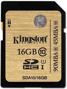 Kingston SDHC 16GB