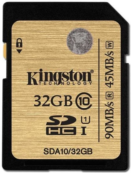 Kingston, SDHC, 32GB