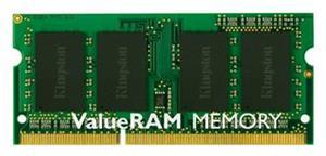 Kingston Value RAM, DDR3, SO-DIMM, 1333 MHz, 8 GB, CL9