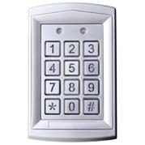 Kódová klávesnica DH16A-10T, kovová