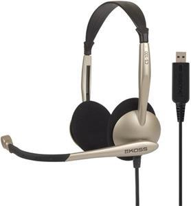KOSS CS100, slúchadlá, USB