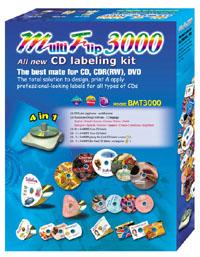 Label Maker BOMA CD/DVD kit + software