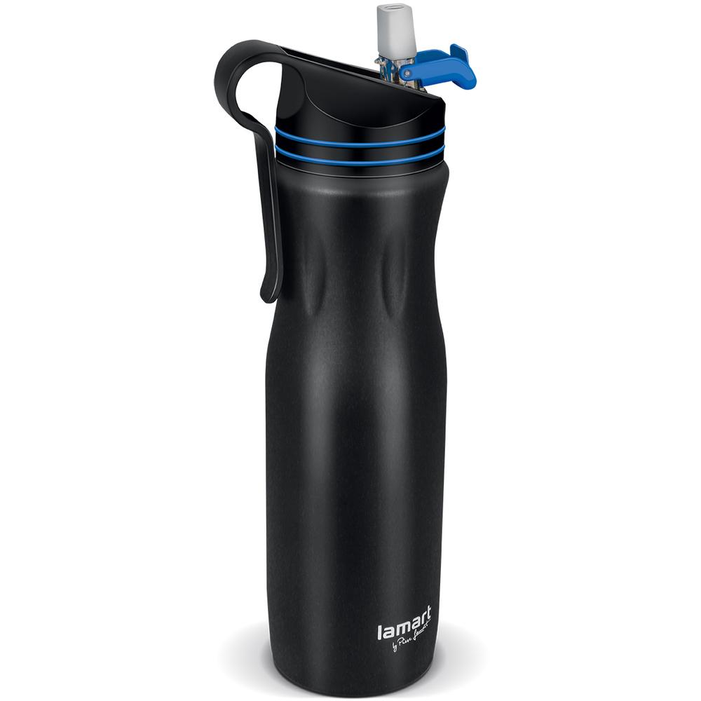 Lamart LT4047, termoska 550 čierno/modra HANG