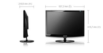 "LCD Samsung 2333SW 23"" čierny"