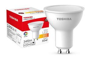 LED Lamp TOSHIBA PAR16 | 4,5W (50W) 345Lm 3000K 80Ra ND 120D GU10