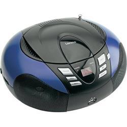 LENCO SCD-37 USB Blue - prenosný CD/MP3 prehrávač