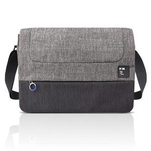 Lenovo 14 On-trend Messenger by NAVA, taška pre notebook, sivá