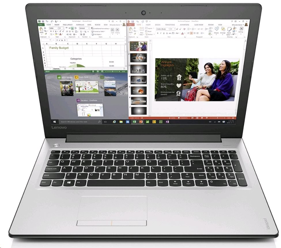 Lenovo Ideapad 310-15 80SM00E3CK, biely