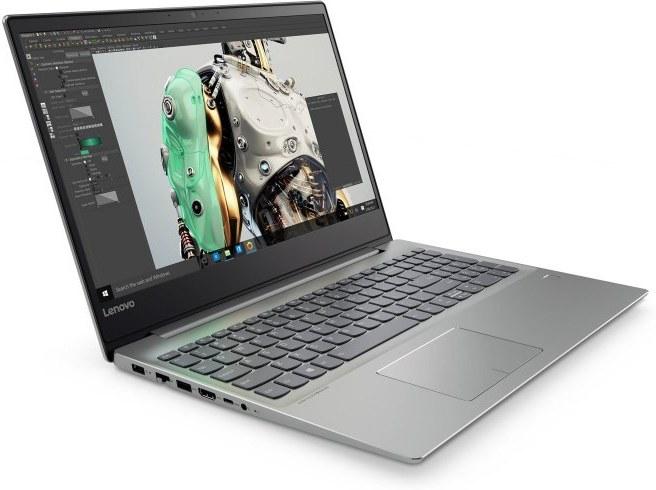 Lenovo Ideapad 720-15 81C7000FCK, sivý