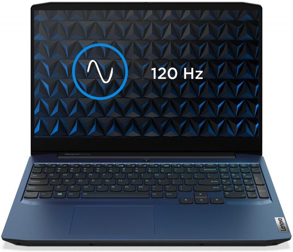 Lenovo IdeaPad Gaming 3-15ARH05, modrý