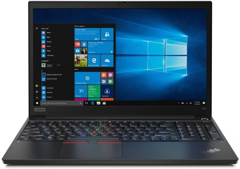 Lenovo ThinkPad E15, 20RD0020XS, čierny