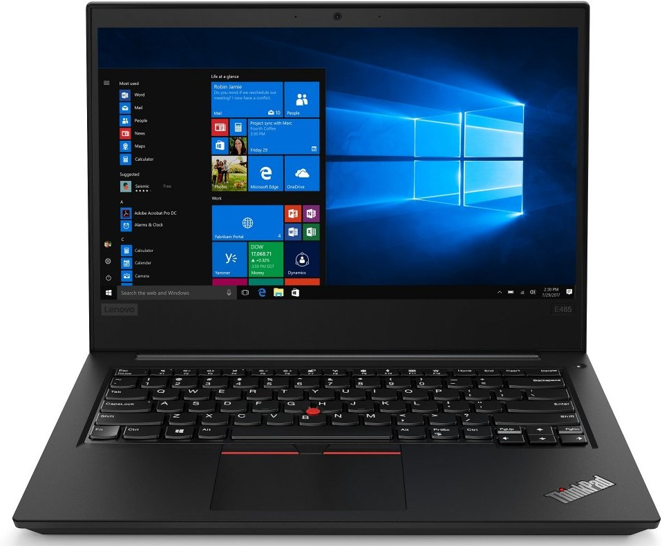 Lenovo ThinkPad E485 20KU000NXS, čierny