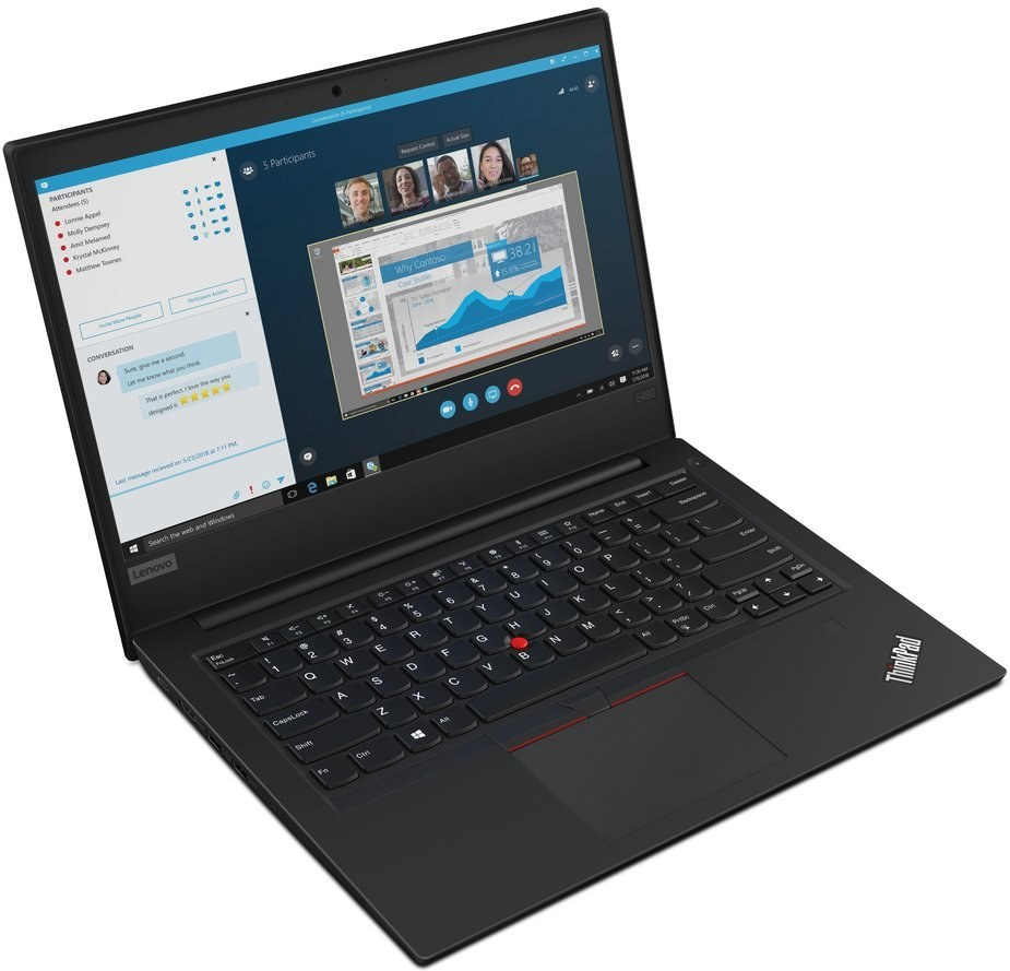 Lenovo ThinkPad E490 20N80071XS, čierny