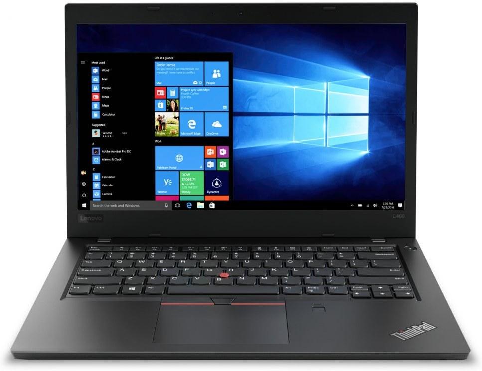 Lenovo ThinkPad L480 20LS0017XS, čierny