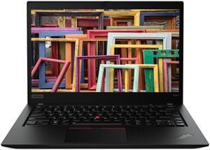 Lenovo ThinkPad T490s 20NX000EXS, čierny