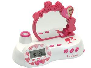 LEXIBOOK Barbie RP300BB Radio Alarm Clock Projector