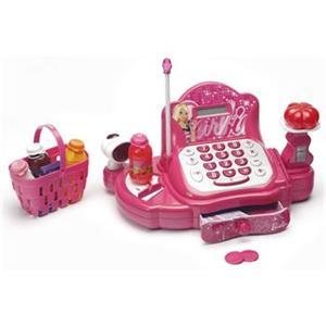 LEXIBOOK Barbie RPB550 Complete cash register