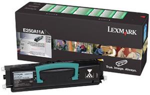 Lexmark E250A11E, čierny, 3500strán