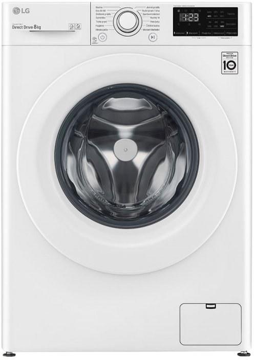 LG F48V3TN3W, práčka predom plnená