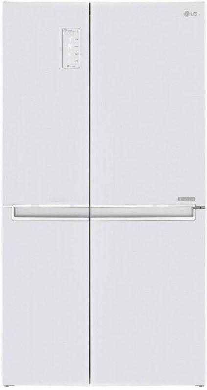LG GSB760SWXV, chladnička americká