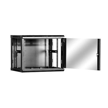 Linkbasic závesná skrine 19'' 9U 600x600mm - čierna