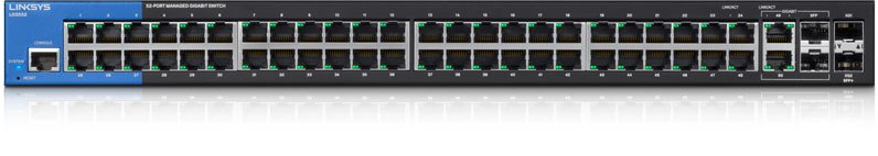 Linksys 48-port Desktop Gbit Mngd Switch,2xSFP 10G LGS552-EU