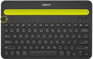 Logitech Bluetooth K480, bezdrôtová klávesnica, čiernožltá