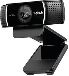 Logitech C922, webkamera, čierna