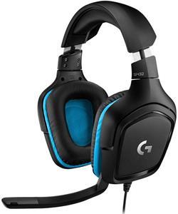 Logitech G432 Gaming Headset Leatherette