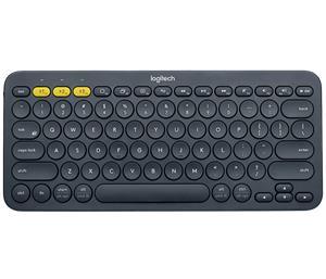 Logitech K380 Multi-Device Bluetooth®, bezdrôtová klávesnica, sivá