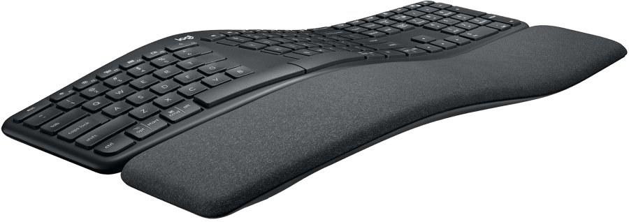 Logitech K860 Ergonomic Split, graphite, bezdrôtová klávesnica, US layout
