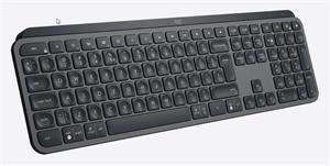 Logitech MX Keys Advanded, bezdrôtová klávesnica, US, čierna