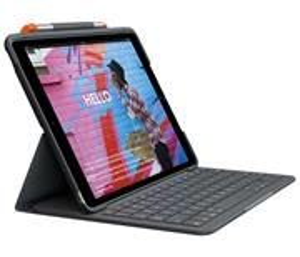 Logitech, puzdro pre iPad s klávesnicou, čierne