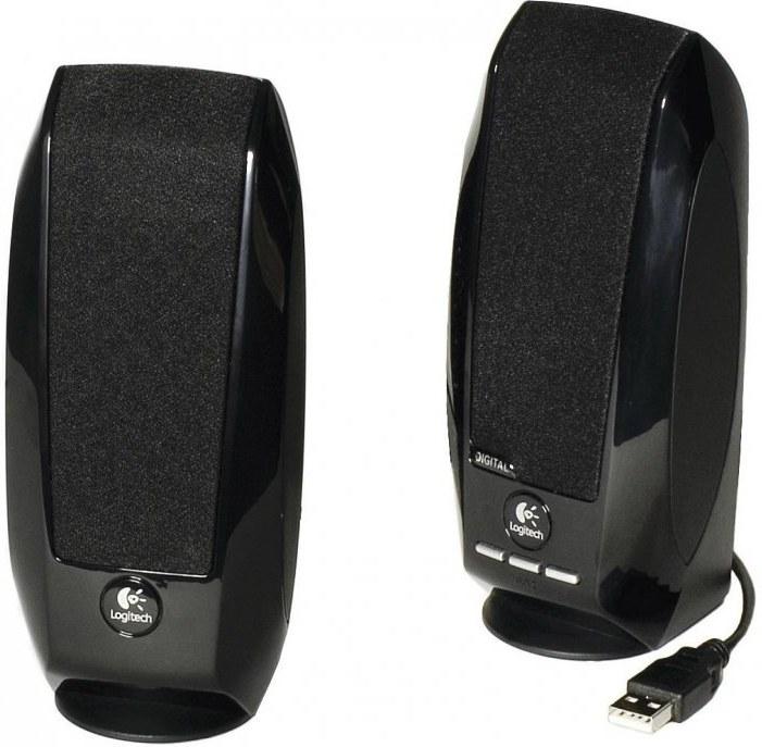 Logitech S150, reproduktory, čierne