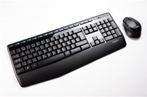Logitech Wireless Combo MK345, klávesnica a myš, čierna