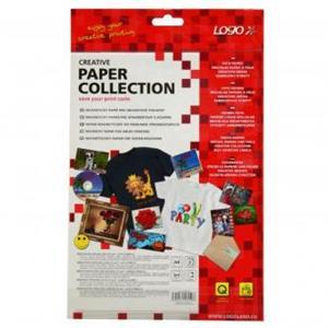Logo, magnetický papier, PRO, biely, A4, 871 g/m2, 1440dpi, 2 listy, pre atramentové tlačiarne, L