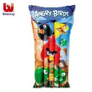 Madrace Bestway Angry Birds ,nafukovací, 119 x 61 cm