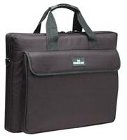 Manhattan London Briefcase taška pre notebook, polyester, čierna