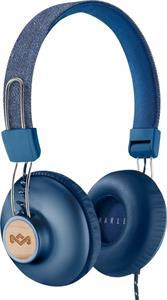 Marley Positive Vibration 2, Bluetooth slúchadlá, modré